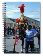 Thoth Parade Rider Spiral Notebook