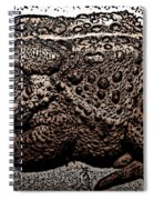 Thoughtful Toad Spiral Notebook