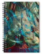 Thoughts In Motion Spiral Notebook