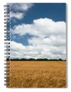 Thoughts Of A Wheatfield Spiral Notebook