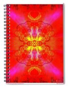 Thoughts Of Love And Light Transforming Spiral Notebook