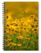 Thoughts Of Spring Spiral Notebook