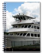 Thousand Islands Saint Lawrence Seaway Uncle Sam Boat Tours Spiral Notebook