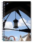 Three  Broomsticks Spiral Notebook