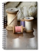 Thread And Mending Spiral Notebook