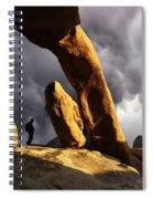 Threatening Skies Spiral Notebook