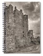 Threave Castle In Grey Spiral Notebook