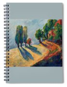 Three And One Trees Spiral Notebook