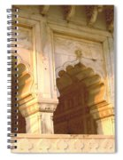 Three Arches At Sunrise Spiral Notebook