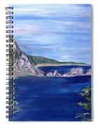 Three Arches Rock Spiral Notebook