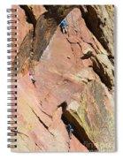 Three Climbers Spiral Notebook