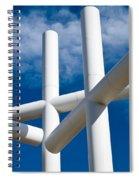 Three Crosses Spiral Notebook