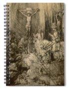 Three Crucifixes Spiral Notebook