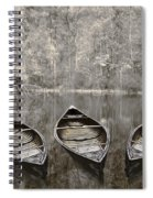 Three Spiral Notebook