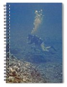 Three Divers In Hawaii Spiral Notebook