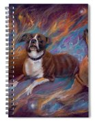 If Dogs Go To Heaven Spiral Notebook