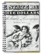 Three Dollar Bill, 1856 Spiral Notebook