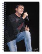 Three Doors Down - Brad Arnold Spiral Notebook