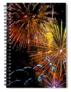 Three Explosions Spiral Notebook