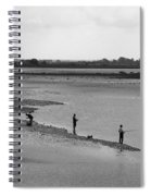 The Banks Of The Somme Spiral Notebook