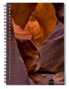 Three Faces In Sandstone Spiral Notebook