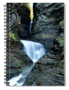 Three Falls In Watkins Glen Spiral Notebook