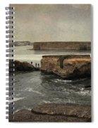 Three Fishermen Spiral Notebook