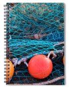 Three Floats Spiral Notebook