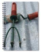 Three Garden Tools Spiral Notebook