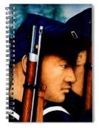 Three Heros Spiral Notebook