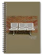 Three Is A Crowd Spiral Notebook