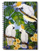 Three Is A Crowd Hand Embroidery Spiral Notebook