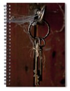 Three Keys Spiral Notebook