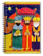Three Kings And Camel Spiral Notebook
