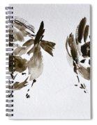 Three Little Birds Perch By My Doorstep Spiral Notebook