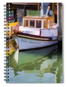 Three Little Boats Spiral Notebook