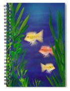 Three Little Fish Spiral Notebook