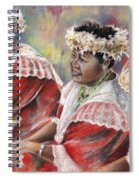Three Mamas From Tahiti Spiral Notebook