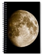Three Moons No2 Spiral Notebook