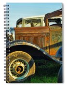 Three Old Fords Spiral Notebook