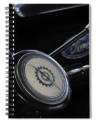 Three On The Tree Spiral Notebook