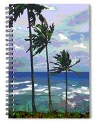 Three Palms Spiral Notebook
