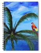 Three Parrots Spiral Notebook
