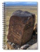 Three Rivers Petroglyphs 3 Spiral Notebook