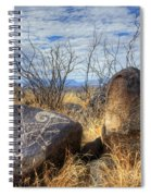 Three Rivers Petroglyphs 7 Spiral Notebook