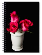 Three Roses Spiral Notebook
