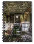 Three Stairs To Nowhere Spiral Notebook