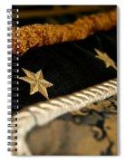 Three Stars Spiral Notebook