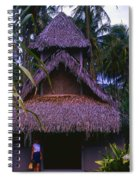 Three Story Hut 2 In Color Spiral Notebook