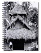 Three Story Hut Spiral Notebook